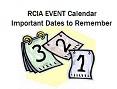 RCIA Important Dates